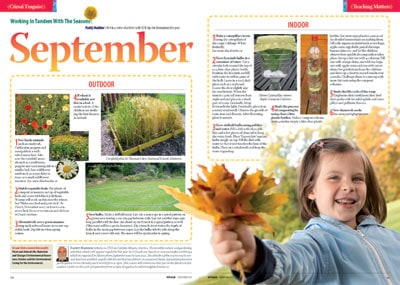 NGR Sep 13 09 Working in tandem with the seasons